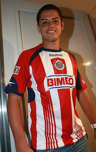 瓜达拉哈拉09-10赛季主客场球衣