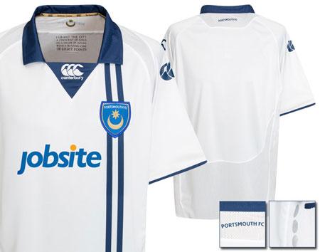 朴茨茅斯09-10赛季客场球衣