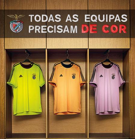 本菲卡2010-11赛季客场球衣颜色投票