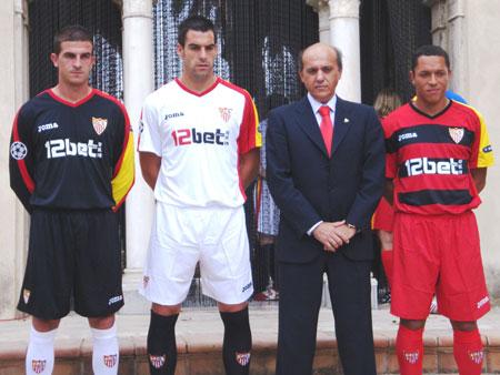 塞维利亚09-10赛季欧战球衣图片