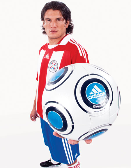 巴拉圭国家队2010世界杯主场球衣