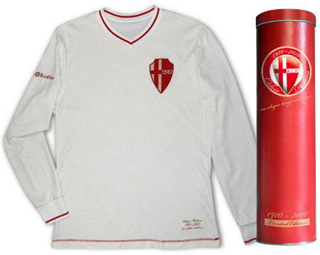 帕多瓦推出百年纪念球衣 © kitstown.com 球衫堂