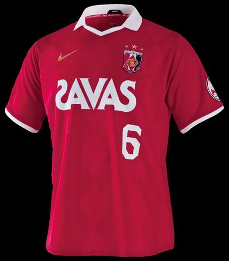 浦和红钻2010赛季主场球衣 © kitstown.com 球衫堂