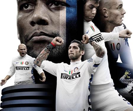 国际米兰2010-11赛季客场球衣 © kitstown.com 球衫堂