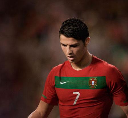 葡萄牙国家队2010世界杯主场球衣