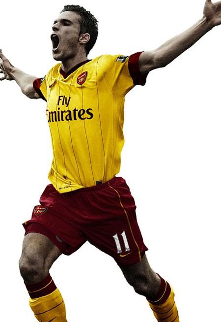 阿森纳2010-11赛季客场球衣 kitstown.com 球衫堂
