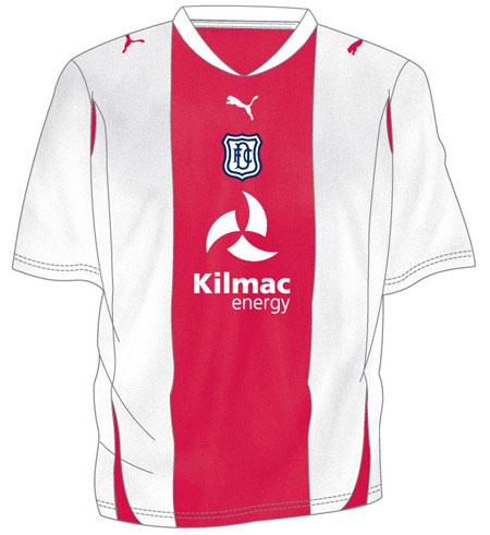 邓迪2010-11赛季主客场球衣 © kitstown.com 球衫堂