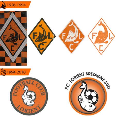 洛里昂推出2010全新队徽 © kitstown.com 球衫堂