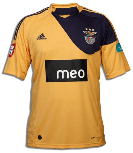 本菲卡2010-11赛季客场球衣 © kitstown.com 球衫堂