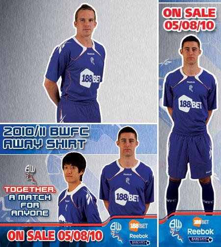 博尔顿2010-11赛季客场球衣 © kitstown.com 球衫堂