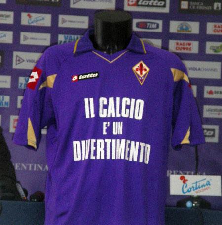 佛罗伦萨2010-11赛季主客场球衣 © kitstown.com 球衫堂