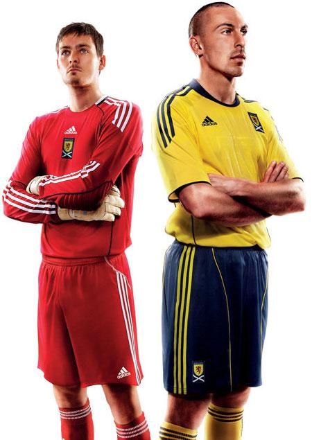 苏格兰国家队2010-11赛季客场球衣 © kitstown.com 球衫堂
