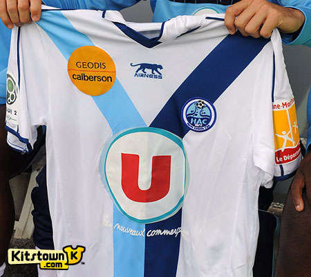 勒阿弗尔2010-11赛季客场球衣 © kitstown.com 球衫堂