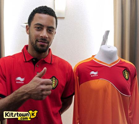 比利时国家队2011-12赛季主客场球衣 © kitstown.com 球衫堂