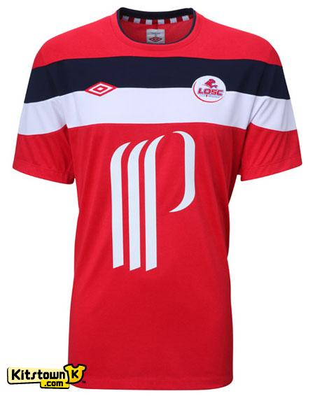 里尔2011-12赛季主场球衣 © kitstown.com 球衫堂