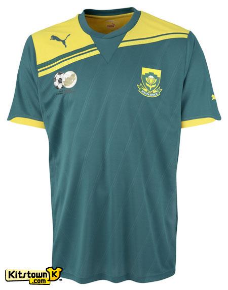 南非国家队2011-12赛季主客场球衣 © kitstown.com 球衫堂