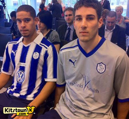 谢菲尔德星期三2011-12赛季主客场球衣 © kitstown.com 球衫堂