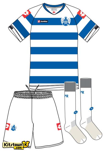 女王公园巡游者2011-12赛季主场球衣 © kitstown.com 球衫堂