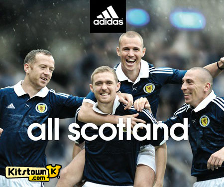 苏格兰国家队2012-13赛季主场球衣 © kitstown.com 球衫堂