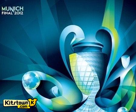 欧洲冠军联赛2012慕尼黑决赛标志 © kitstown.com 球衫堂