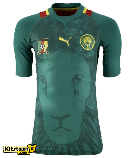 喀麦隆国家队2012-13赛季主场球衣 © kitstown.com 球衫堂