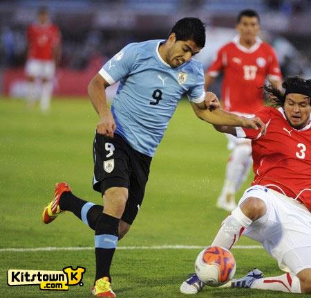 乌拉圭国家队2012-13赛季主场球衣 © kitstown.com 球衫堂