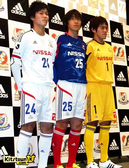 横滨水手2012赛季主客场球衣 © kitstown.com 球衫堂