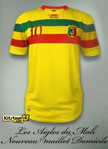马里国家队2012非洲杯主客场球衣 © kitstown.com 球衫堂