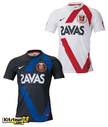 浦和红钻2012赛季主客场球衣 © kitstown.com 球衫堂