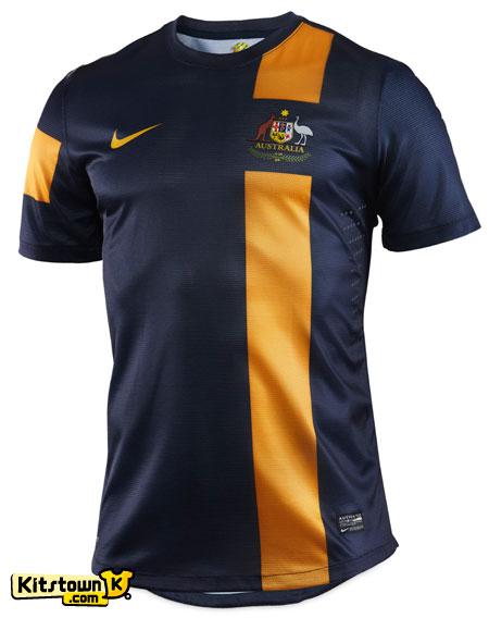 澳大利亚国家队2012-13赛季客场球衣 © kitstown.com 球衫堂