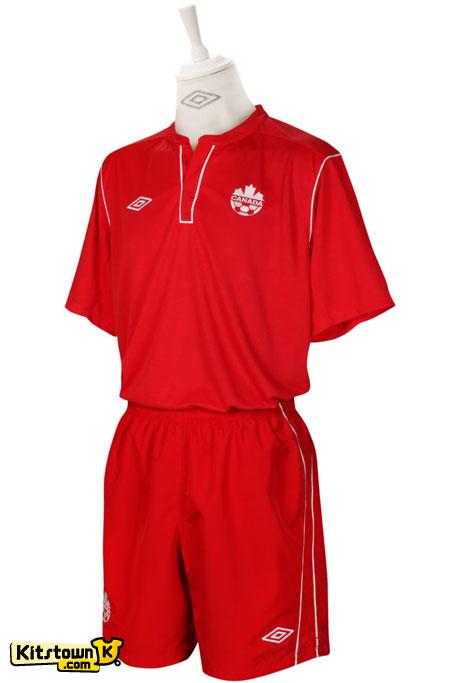 加拿大国家队2012-13赛季主客场球衣 © kitstown.com 球衫堂