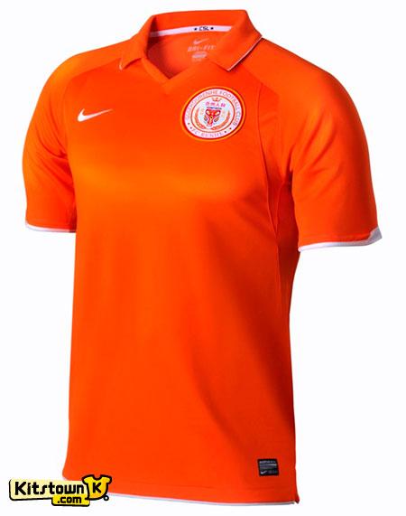 贵州人和2012赛季主客场球衣 © kitstown.com 球衫堂