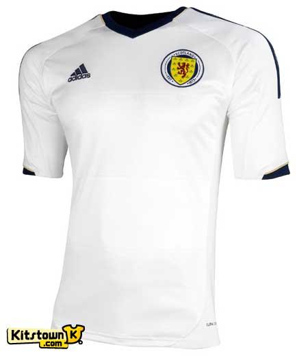 苏格兰国家队2012-13赛季客场球衣 © kitstown.com 球衫堂