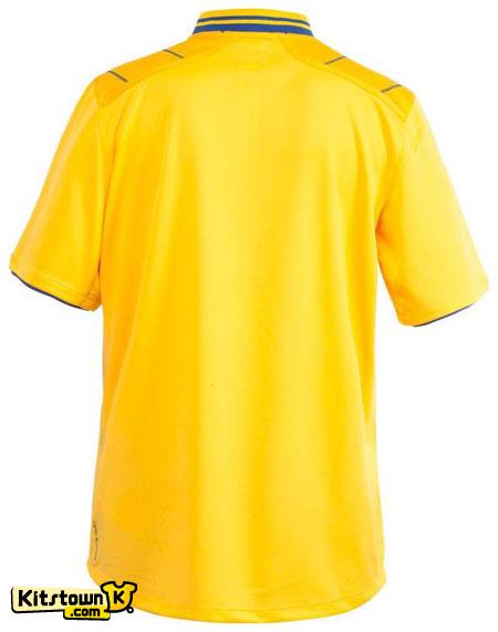瑞典国家队2012-13赛季主场球衣 © kitstown.com 球衫堂