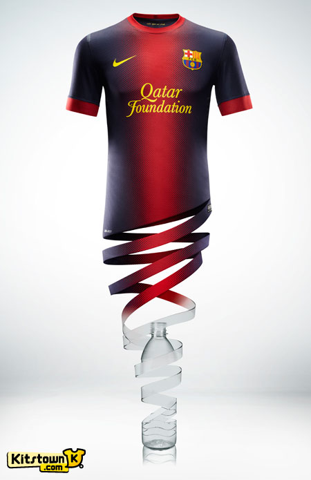 巴塞罗那2012-13赛季主场球衣 © kitstown.com 球衫堂