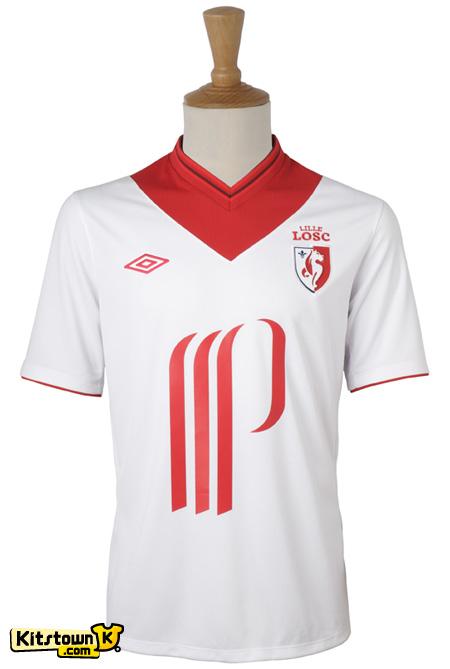 里尔2012-13赛季主客场球衣 © kitstown.com 球衫堂