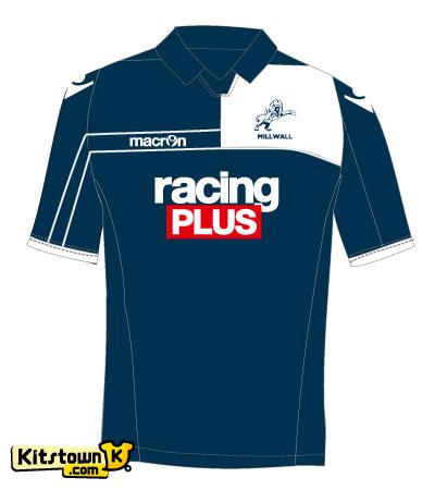 米尔沃尔2012-13赛季主客场球衣 © kitstown.com 球衫堂