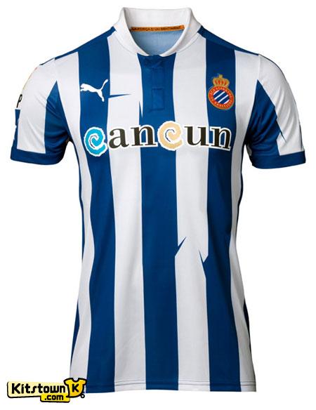 西班牙人2012-13赛季主客场球衣 © kitstown.com 球衫堂