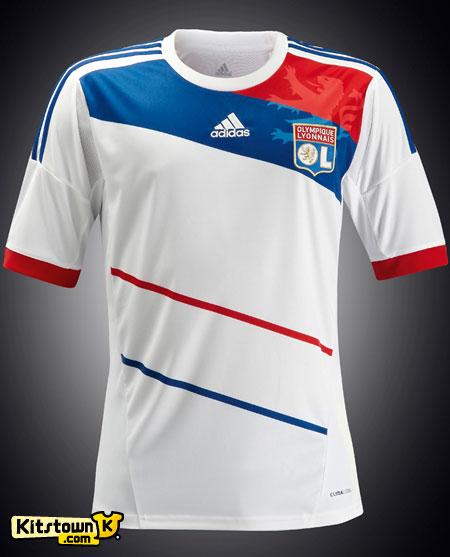 里昂2012-13赛季主场球衣 © kitstown.com 球衫堂