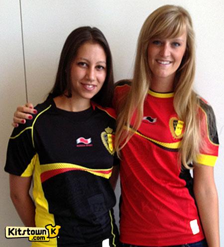 比利时国家队2012-13赛季主客场球衣 © kitstown.com 球衫堂