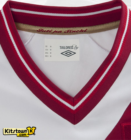 秘鲁国家队2012-13赛季主场球衣 © kitstown.com 球衫堂
