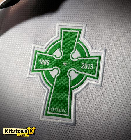 凯尔特人125周年纪念球衣 © kitstown.com 球衫堂