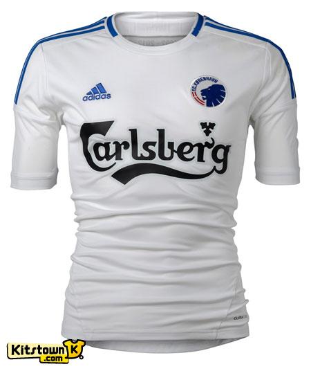 哥本哈根2012-13赛季主客场球衣 © kitstown.com 球衫堂