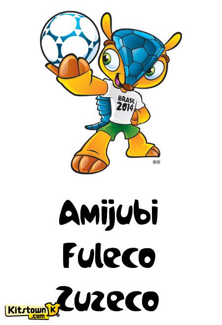 2014巴西世界杯官方吉祥物 © kitstown.com 球衫堂