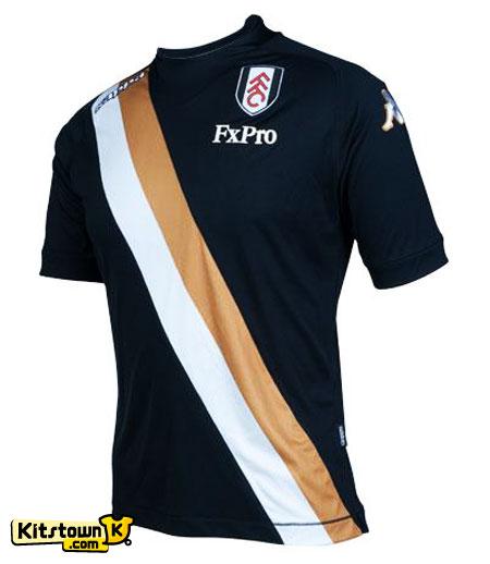 富勒姆2012-13赛季第二客场球衣 © kitstown.com 球衫堂