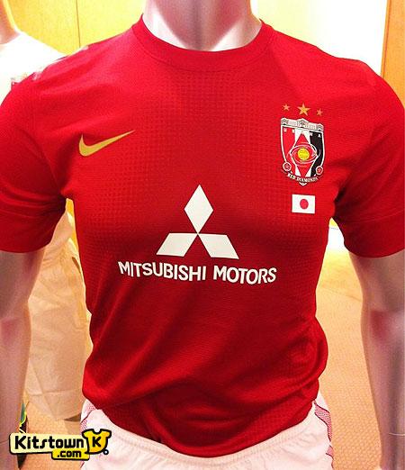 浦和红钻2013赛季主客场球衣 © kitstown.com 球衫堂