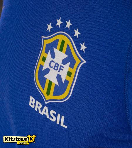 巴西国家队2013联合会杯客场球衣 © kitstown.com 球衫堂