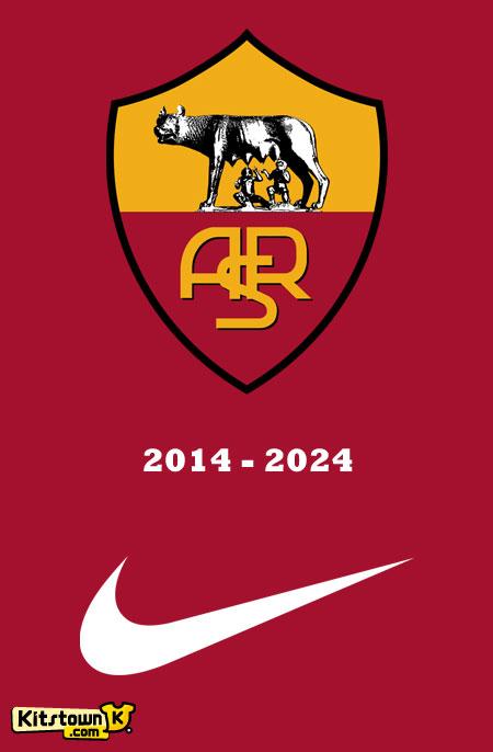 罗马俱乐部与耐克签约十年 © kitstown.com 球衫堂