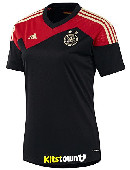 德国女足国家队2013欧洲杯主客场球衣 © kitstown.com 球衫堂