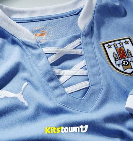 乌拉圭国家队2013联合会杯主场球衣 © kitstown.com 球衫堂